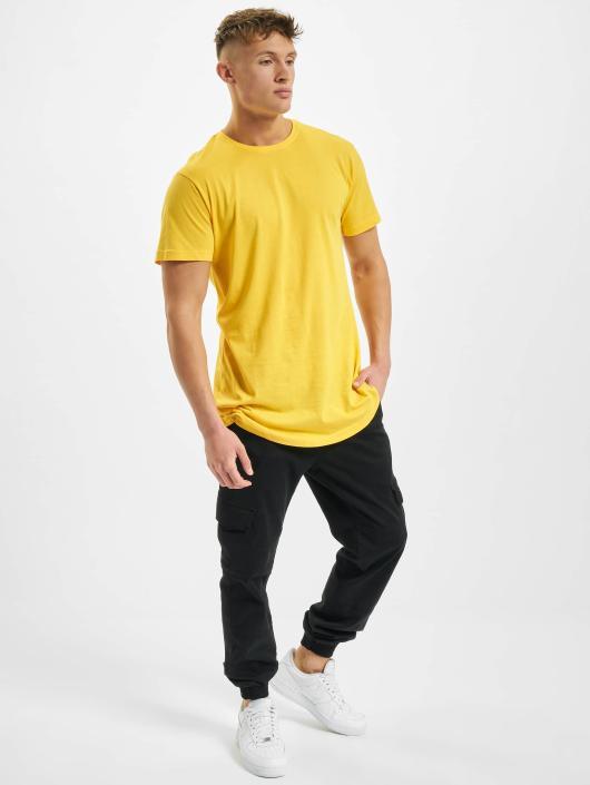 Urban Classics T-Shirt Shaped Oversized Long gelb