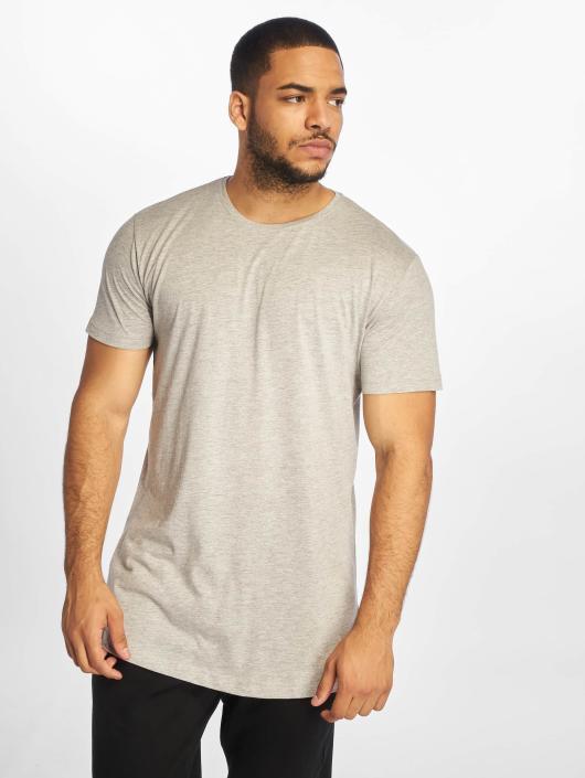 Urban Classics T-Shirt Shaped Long grau