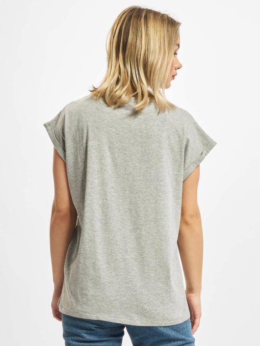 Urban Classics T-Shirt Extended Shoulder grau