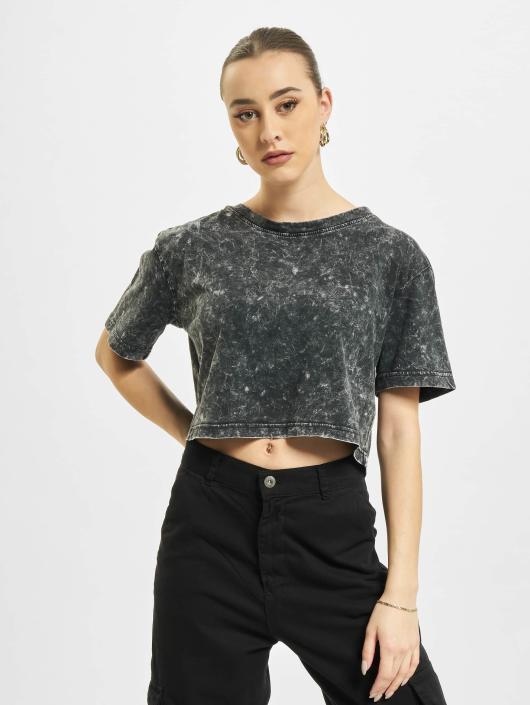 Urban Classics T-Shirt Random Wash Short Oversize gray