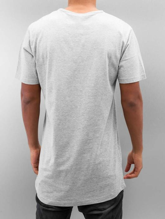 Urban Classics T-shirt Peached Shaped Long grigio