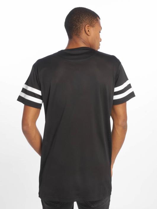 Urban Classics T-shirt Stripe Mesh nero