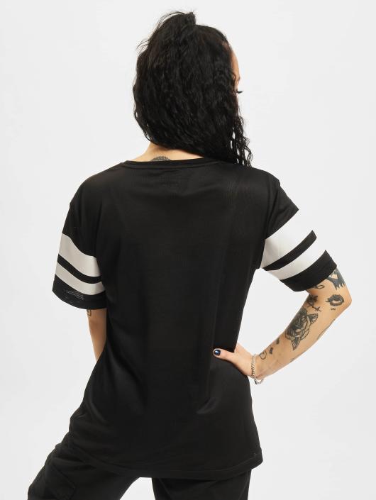 Mesh Urban Classics T 183035 Noir Stripe shirt Femme N0wmnv8