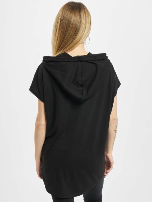 Urban Classics T-Shirt Jersey Hooded noir