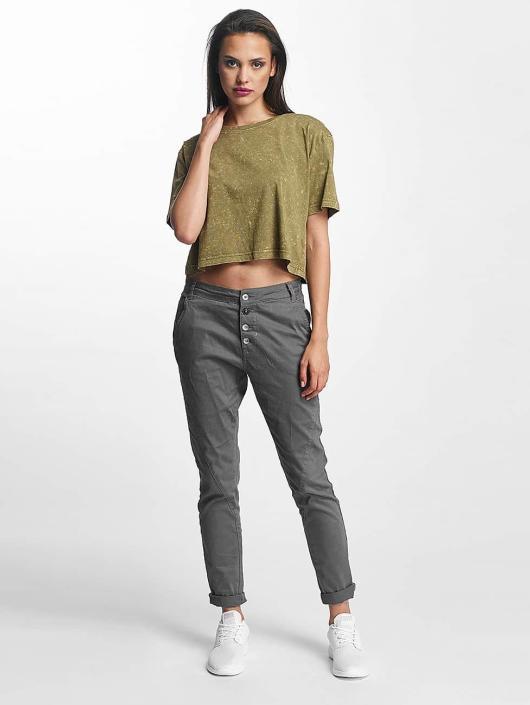Random Wash Oversize Femme shirt T 399481 Classics Urban Short Olive tQhsrd