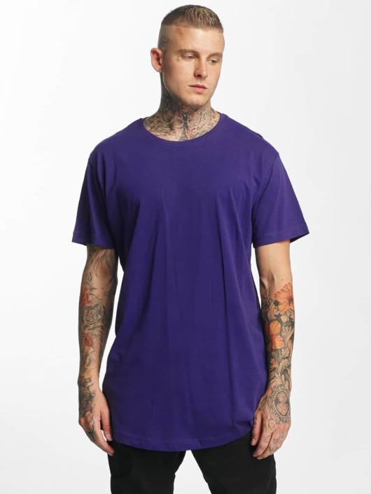 Urban Classics T-Shirt Shaped Oversized Long pourpre