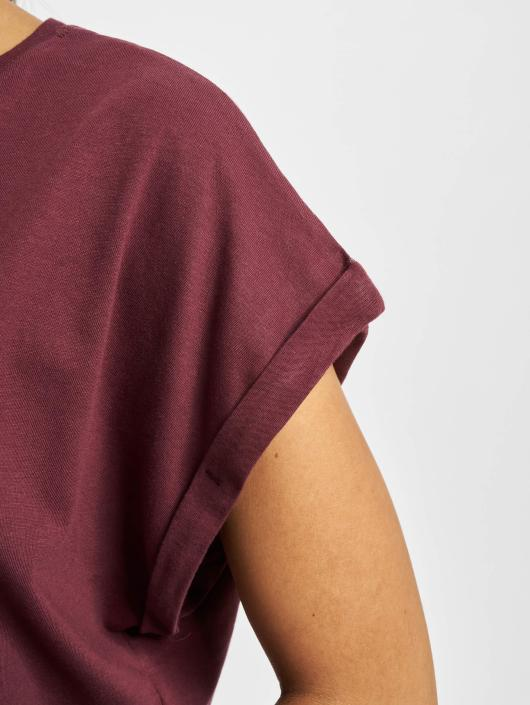 Urban Classics T-Shirt Extended Shoulder red