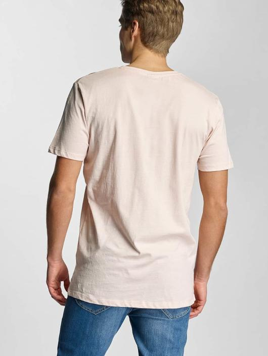 Urban Classics T-Shirt Basic V-Neck rose