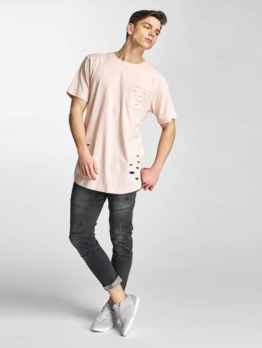Urban Classics T-Shirt Ripped rose