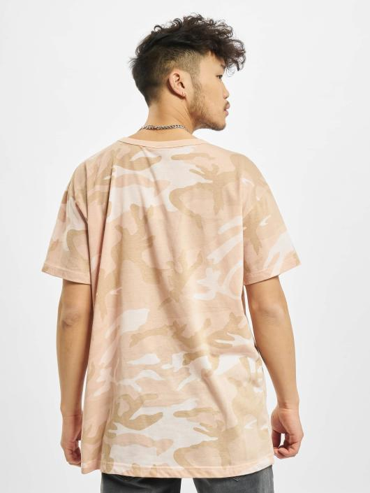 Urban Classics T-Shirt Camo rose