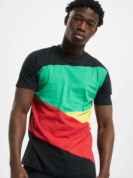 Urban Classics T-Shirt Zig Zag schwarz