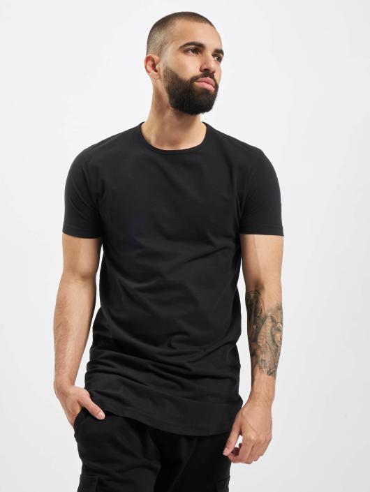 Urban Classics T-Shirt Peached Shaped Long schwarz