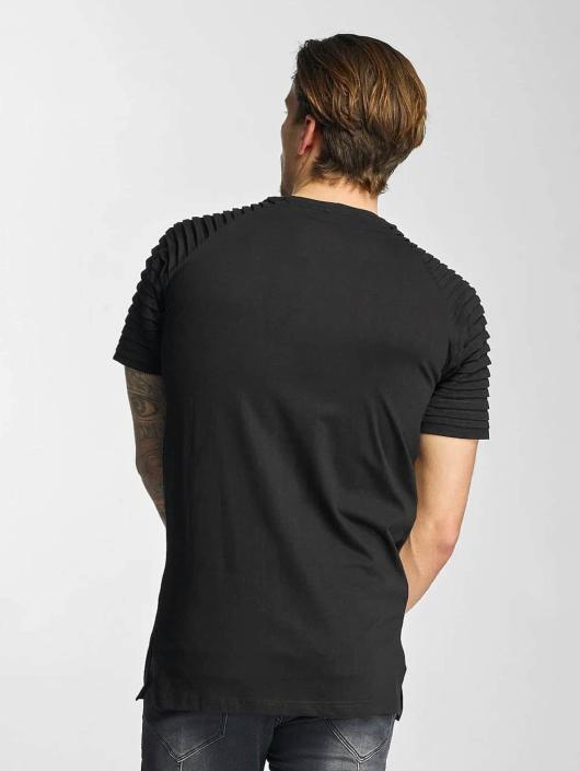 Urban Classics T-Shirt Pleat schwarz