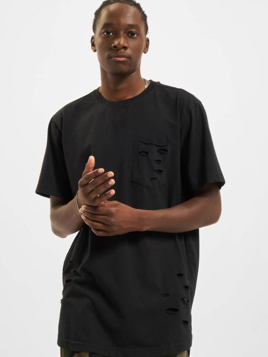 Urban Classics T-Shirt Ripped schwarz