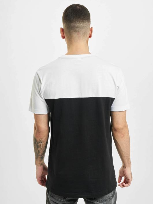 Urban Classics T-Shirt Color Block Summer Pocket schwarz