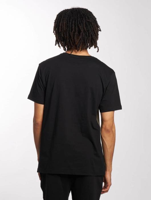 Urban Classics T-Shirt Contrast Panel schwarz