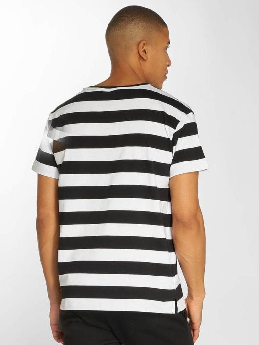 Urban Classics T-Shirt Stripe schwarz