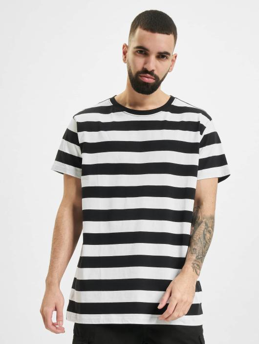 Urban Classics T-Shirt Block Stripe schwarz