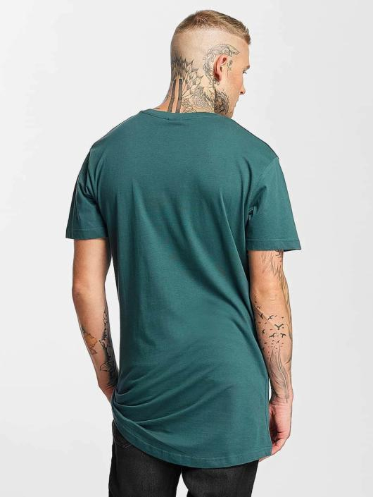 Urban Classics T-shirt Shaped Long turchese