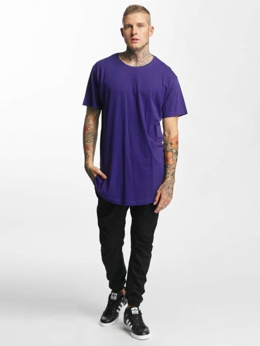 Urban Classics T-shirt Shaped Oversized Long viola