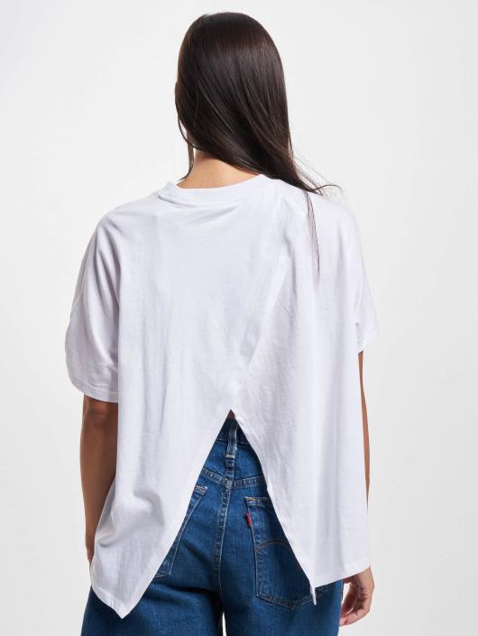 Urban Classics T-Shirt Overlap Turtleneck weiß
