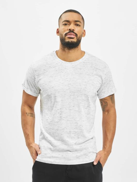 Urban Classics T-Shirt Space Dye Turnup weiß