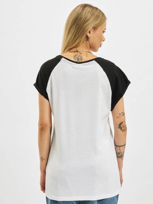Urban Classics T-Shirt Contrast weiß