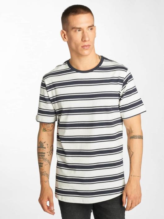Urban Classics T-Shirt Double Stripe weiß