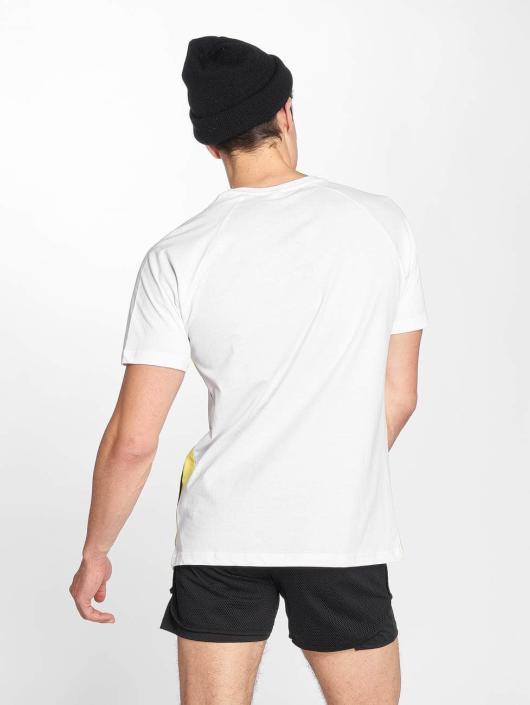 Urban Classics T-Shirt Side Stripe Raglan weiß