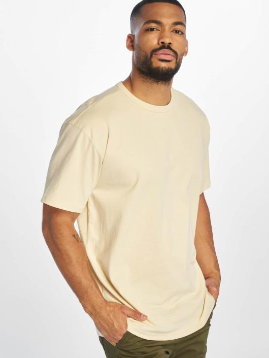 Urban Classics T-Shirty Oversized bezowy
