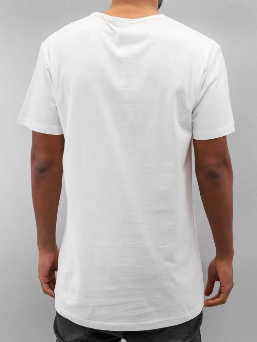 Urban Classics T-Shirty Peached Shaped Long bialy