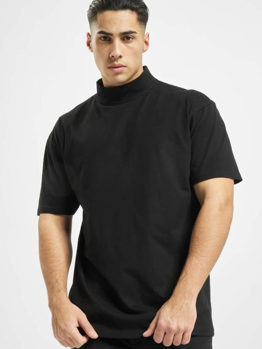 Urban Classics T-Shirty Oversized Turtleneck czarny