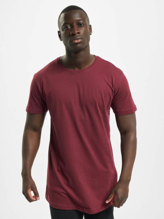 Urban Classics T-Shirty Shaped Oversized Long czerwony