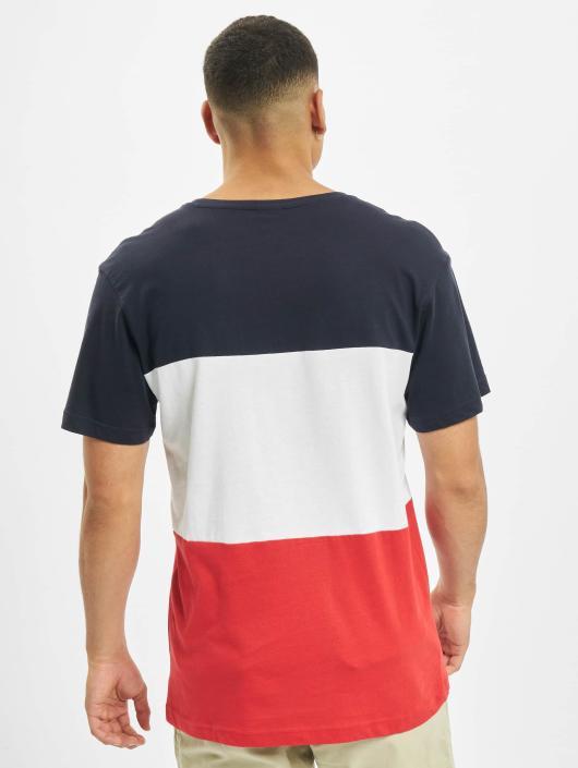 Urban Classics T-Shirty Color Block czerwony