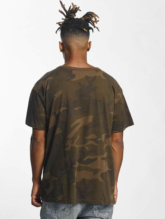 Urban Classics T-Shirty Camo Oversized moro