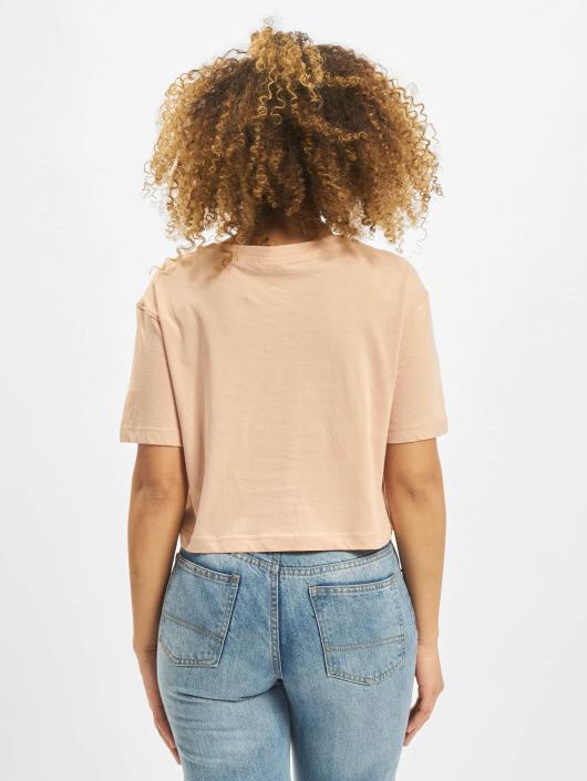 Urban Classics T-Shirty Cropped rózowy