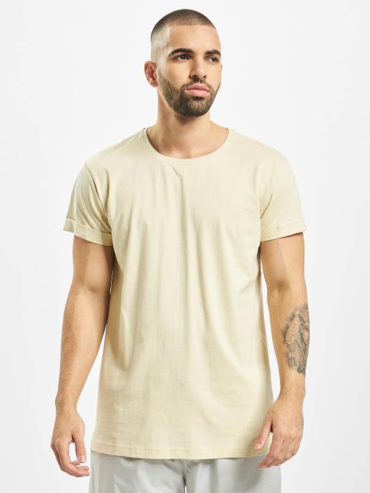 Urban Classics T-skjorter Turnup beige