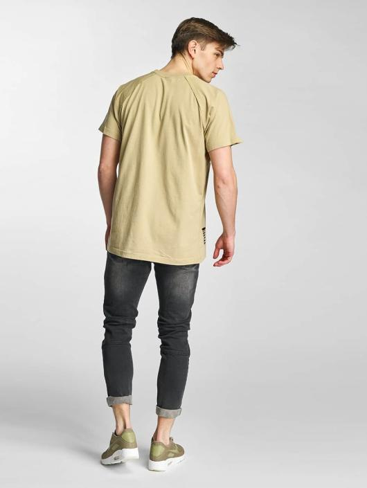 Urban Classics T-skjorter Ripped beige