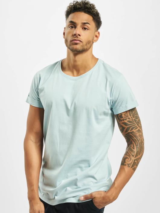 Urban Classics T-skjorter Turnup blå
