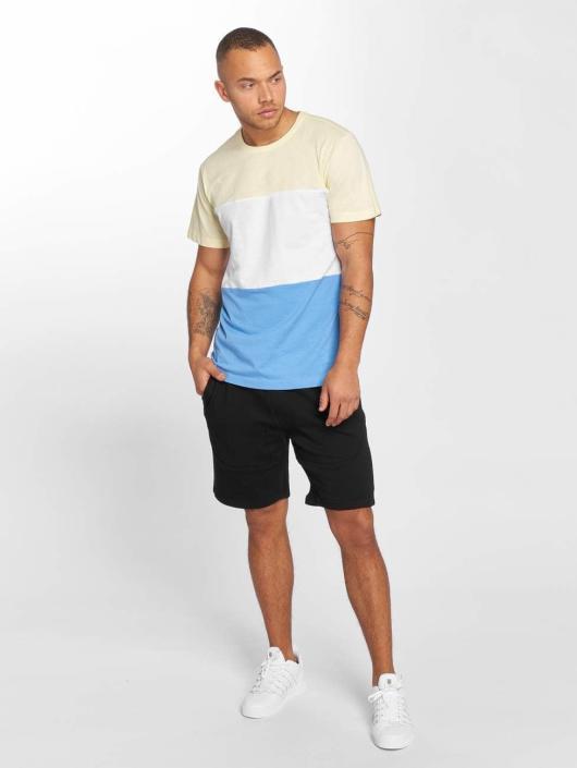 Urban Classics T-skjorter Color Block blå