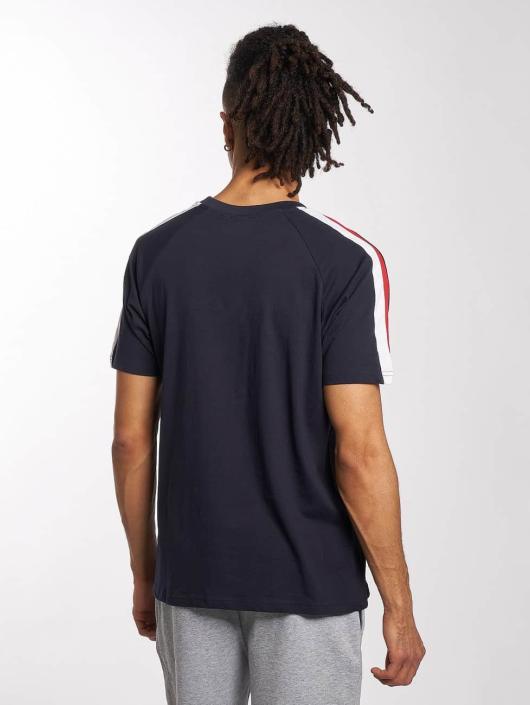 Urban Classics T-skjorter Stripe Raglan blå