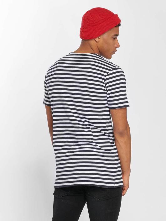 Urban Classics T-skjorter Stripe blå
