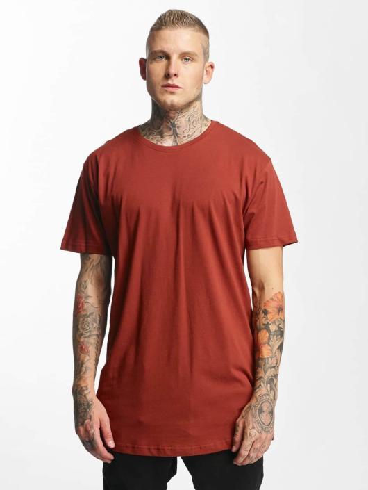 Urban Classics T-skjorter Shaped Oversized Long brun