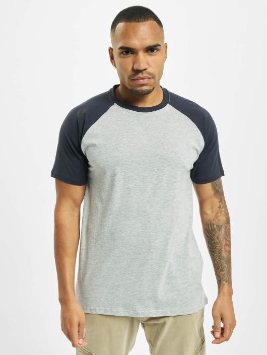 Urban Classics T-skjorter Raglan Contrast grå