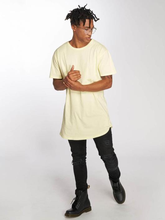 Urban Classics T-skjorter Garment gul