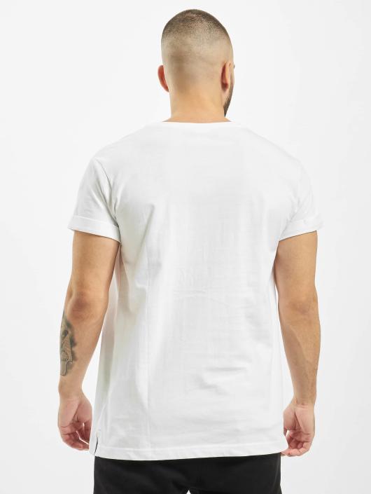 Urban Classics T-skjorter Turnup hvit