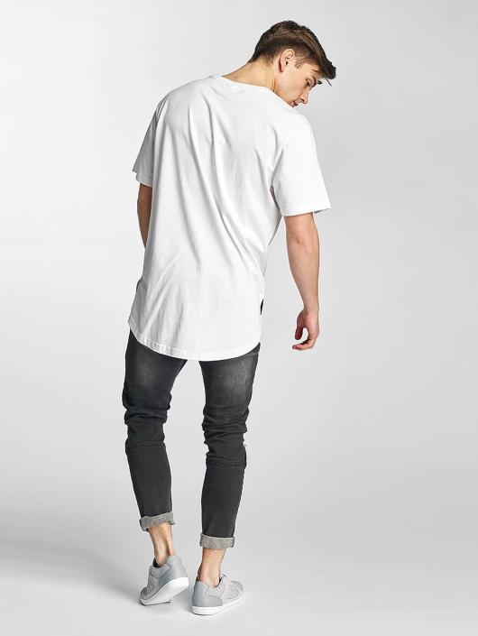 Urban Classics T-skjorter Ripped hvit