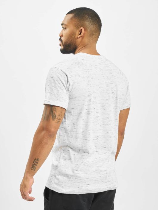 Urban Classics T-skjorter Space Dye Turnup hvit
