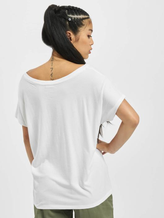 Urban Classics T-skjorter Basic Drop hvit