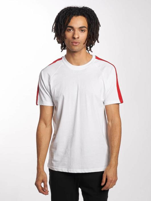Urban Classics T-skjorter Stripe Raglan hvit